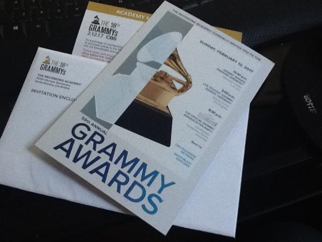First Grammy Invite.JPG